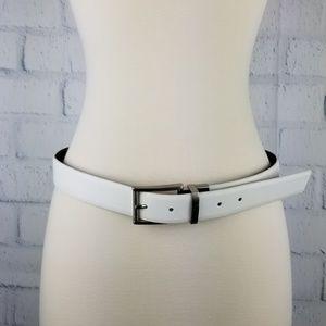 Calvin Klein White Belt. Size 32.